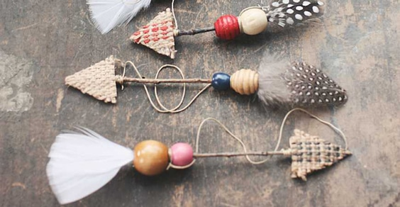 Diy christmas ornament craft ideas this way come - Hemp rope craft ideas an authentic rustic feel ...